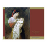 Maternal Admiration Postcard