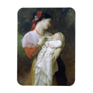 Maternal admiration rectangular photo magnet
