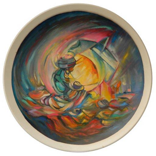 Maternal Bond Decorative Plate By Timothy Orikri Porcelain