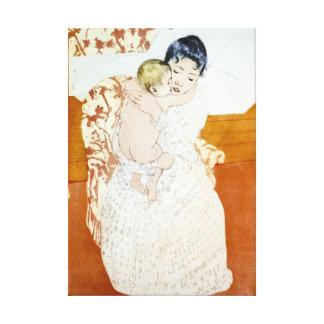 Maternal Caress 1891 Gallery Wrap Canvas