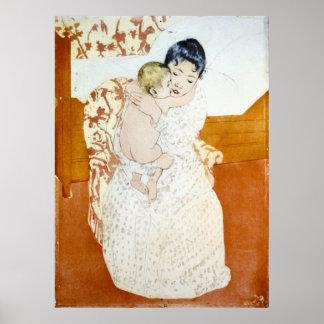 Maternal Caress 1891 Posters