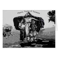 Maternal Cloak Mother's Day Card