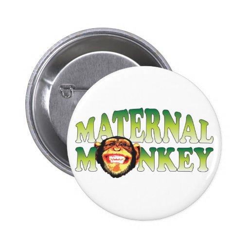 Maternal Monkey Buttons