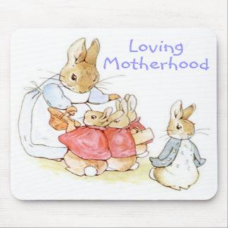 Maternidad cariñosa cojín de ratón de Beatrix Pot Tapetes De Ratón