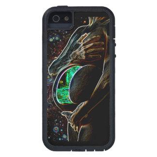 Maternidad de la chica androide extraterrestre funda iPhone SE/5/5s