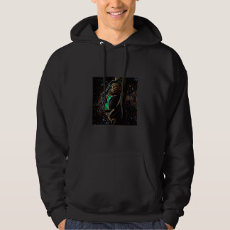 Maternidad de la chica androide extraterrestre suéter con capucha