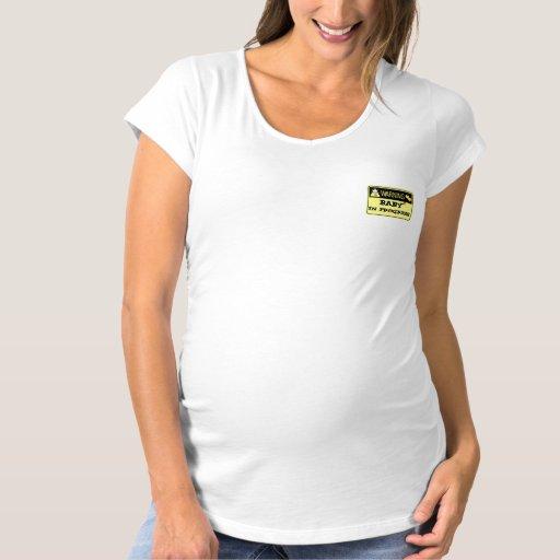 Maternidad de la Mujer T-shirt Playera De Premamá