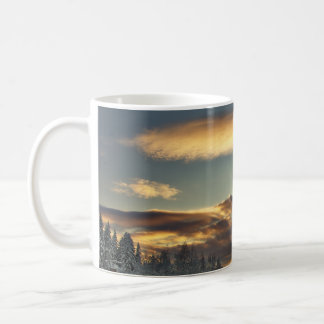 Maternidad nublada taza de café