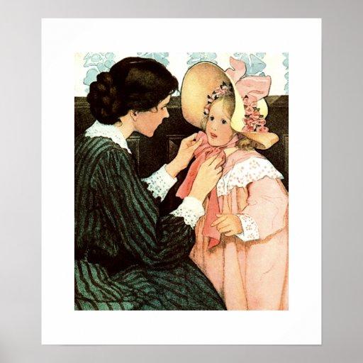 Maternidad por el poster de Jessie Willcox Smith