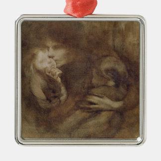 Maternity 2 metal ornament