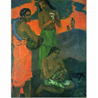 Maternity By Gauguin Paul (Best Quality) Photo Cut Out