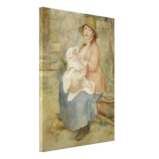 Maternity by Pierre-Auguste Renoir Canvas Prints
