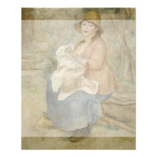 Maternity by Pierre-Auguste Renoir Flyer