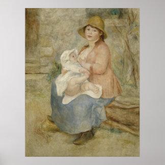 Maternity by Pierre-Auguste Renoir Print