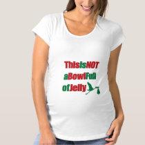 Maternity Christmas T-Shirt Holiday Pregnancy