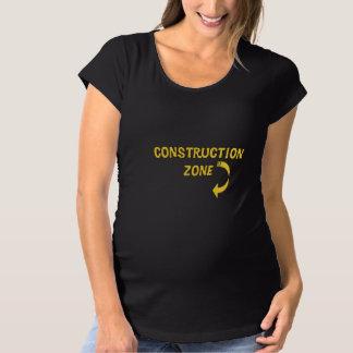Maternity Construction Zone T-shirts
