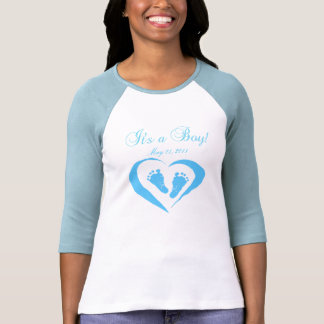 Maternity~It's a Boy Baby Feet Shirts