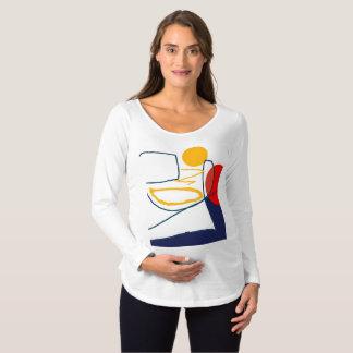 Maternity Long Sleeve T-Shirt Original Art