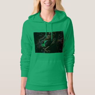 Maternity of the small extraterrestrial android hoodie