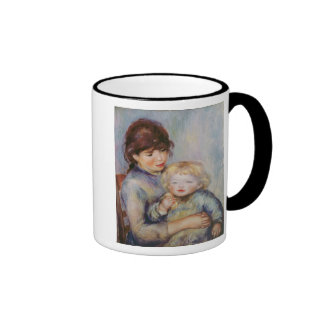 Maternity, or Child with a biscuit, 1887 Ringer Mug