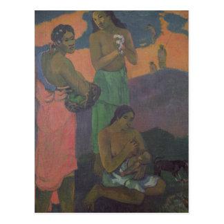 Maternity, or Three Women on the Seashore, 1899 Postcard