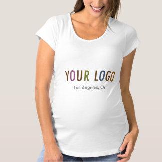 Maternity T-Shirt with Company Logo No Minimum