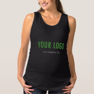 Maternity Tank Top Custom Business Logo Uniform