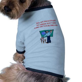 MATH8.png Camiseta De Mascota