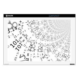 "Math -535 3 17"" laptop decals"