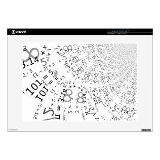 Math -535 3 skin for laptop