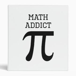 Math Addict Vinyl Binder