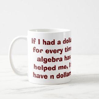 Math Algebra Mug