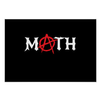 Math Anarchy Poster