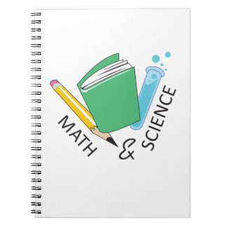 MATH AND SCIENCE NOTE BOOK