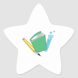 MATH AND SCIENCE STAR STICKER