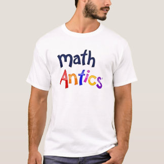 Math Antics Colorful Logo T-shirts