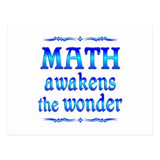 Math Awakens Postcard