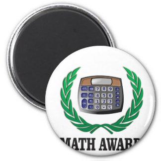 math award calculator magnet