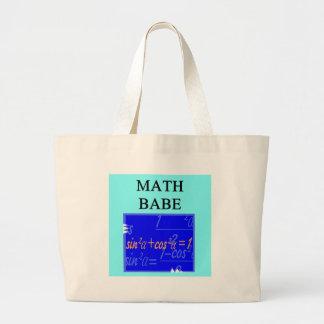 MATH BABE LARGE TOTE BAG