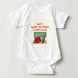 math baby bodysuit