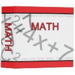 Math Binder by David M. Bandler