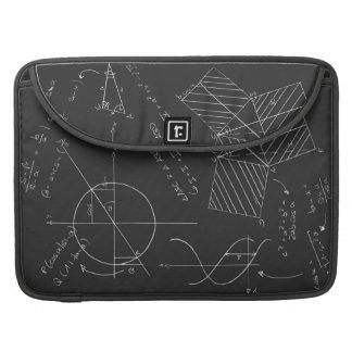 Math blackboard sleeve for MacBooks