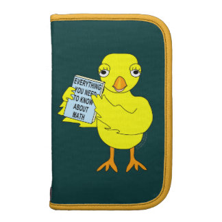 Math Book Chick Folio Planners