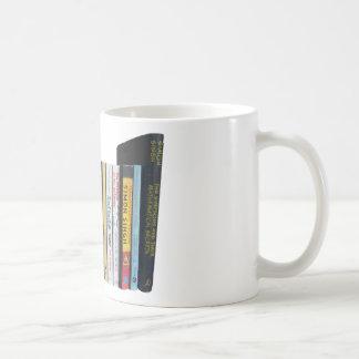 Math Bookshelf Coffee Mug