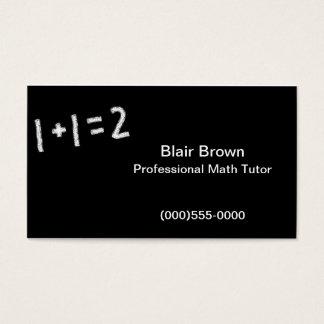 """""""Math"""" Business Card"""