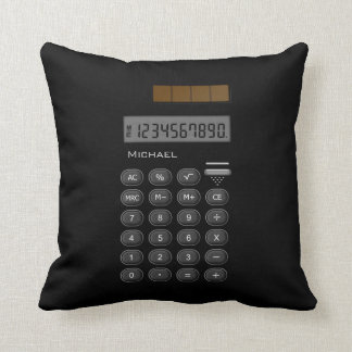 Math Calculator Pillow