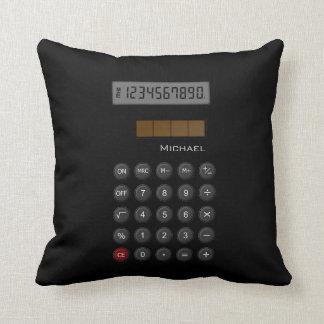 Math Calculator Pillow Throw Pillows