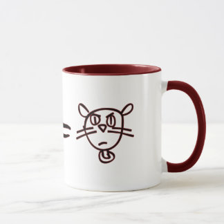 Math Cat #1 Mug