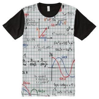 Math Cheat Sheet All-Over-Print T-Shirt