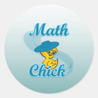 Math Chick #3 Stickers